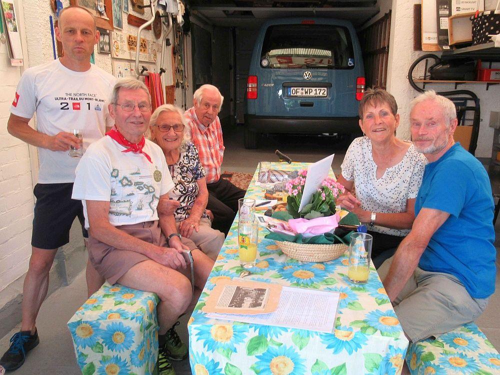 RLT Rodgau gratuliert Gerda Pinnow zum 90. Geburtstag