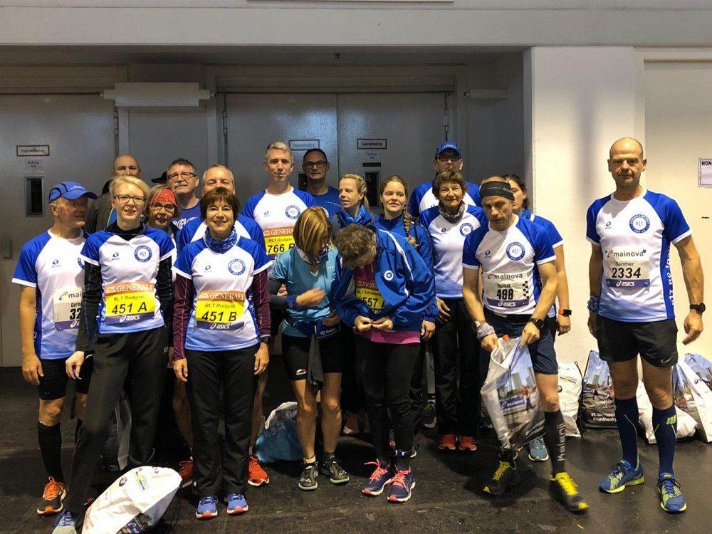 RLT Rodgau rockt den Frankfurt Marathon